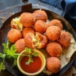Potato Cheese Balls are an easy to make appetizer which are crunchy from outside and gooey and cheesy from inside. Here is how to make Potato Cheese balls Recipe.