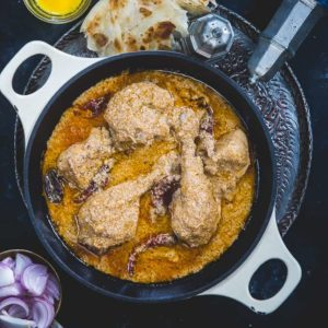 Chicken Rezala is a very famous Bengali recipe which has a Mughlai Origin. Quintessentially, it is a chicken gravy which is white, unlike other chicken curry dishes, and is extremely flavorful with very delicate flavors. So, here is to make Chicken Rezala at home (Step by Step).