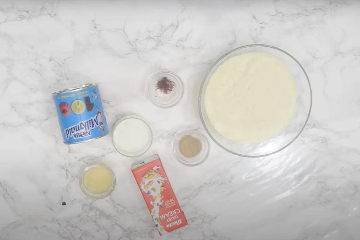 Malai Peda Ingredients