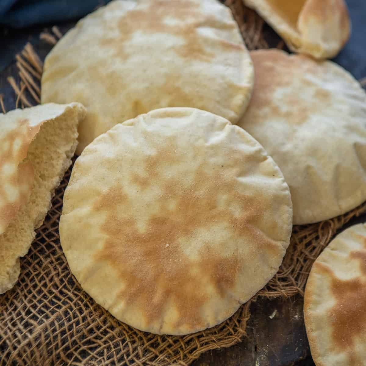 Greek Pita Bread Recipe Step By Step Video Whiskaffair