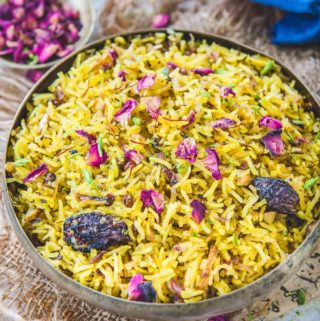 Zarda Pulao (Sweet Rice)