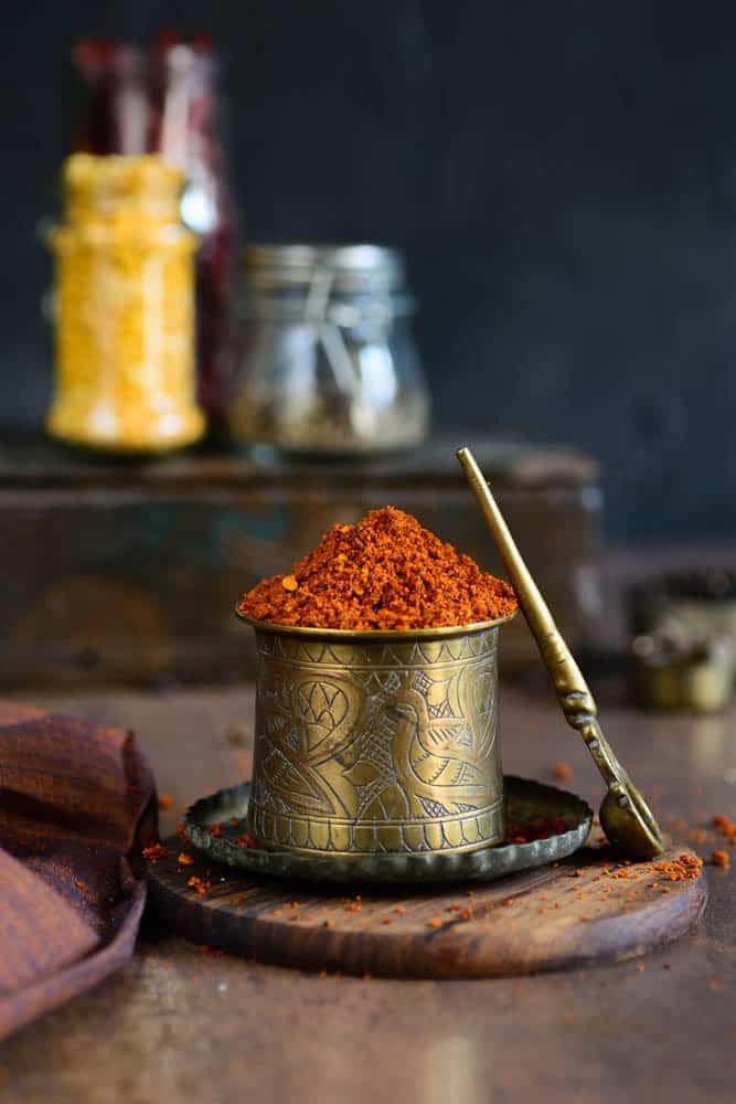 Make your own Bisi Bele Bath Powder Recipe from scratch and take your dish a notch higher. Here is a tried and tested recipe.