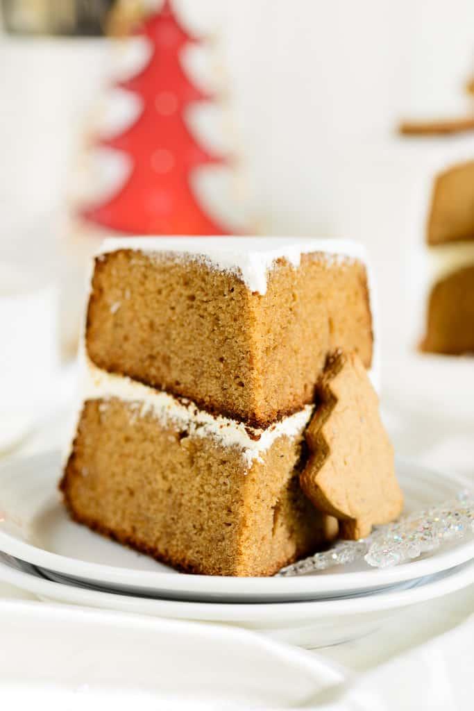 Whole wheat gingerbread cake
