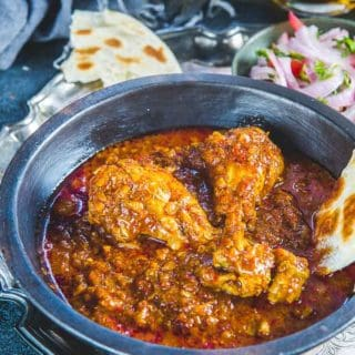 Authentic Chicken Vindaloo