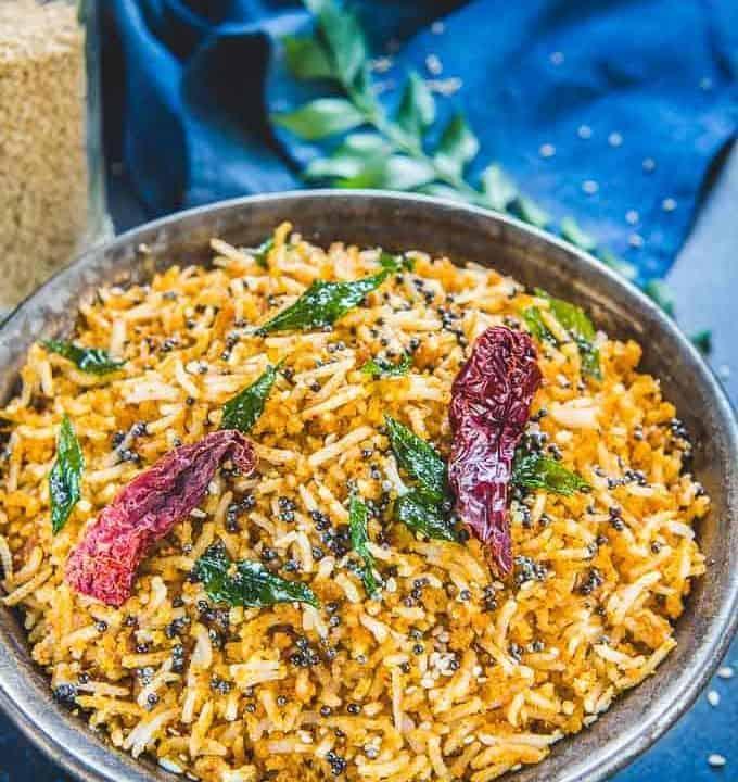 Ellu sadam served in a serving bowl