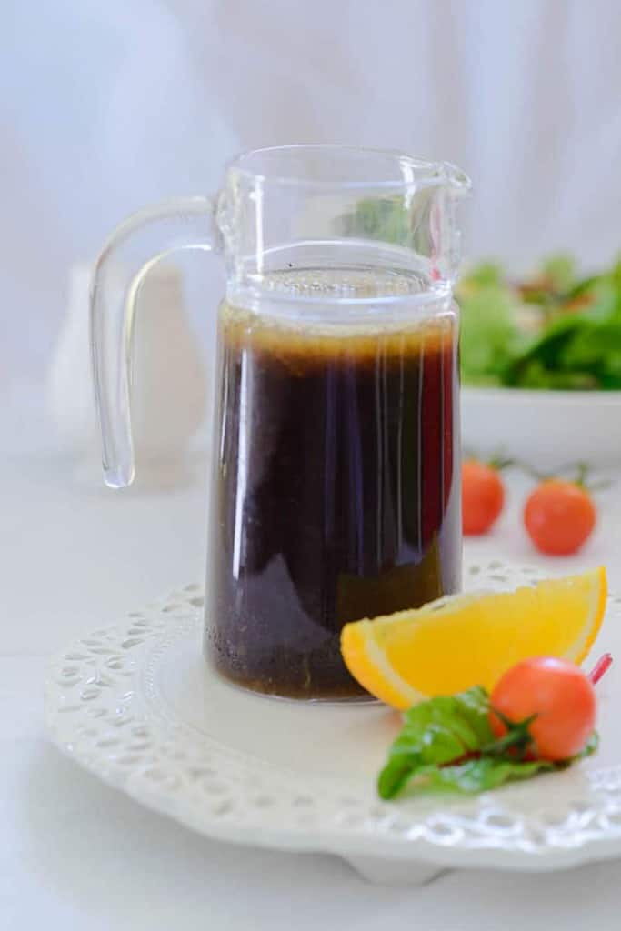 Asian orange ginger salad dressing is a healthy salad dressing inspired by the flavors of Asia. Use over any salad to make it delicious.