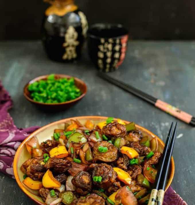 Oriental Crispy Mushroom