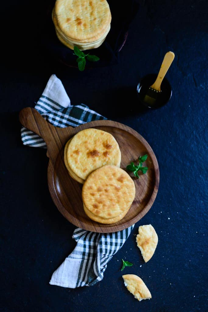 Bakarkhani roti is a traditional Bread from Bangaladesh which was also popular in the awadh region but this recipe is getting lost with time.