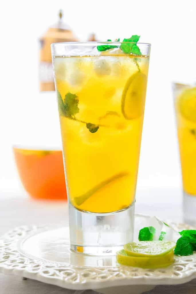 Coconut Lemon Iced Tea is a refreshing beverage perfect for the summers. Here is a simple recipe to make it at home using simple ingredients.