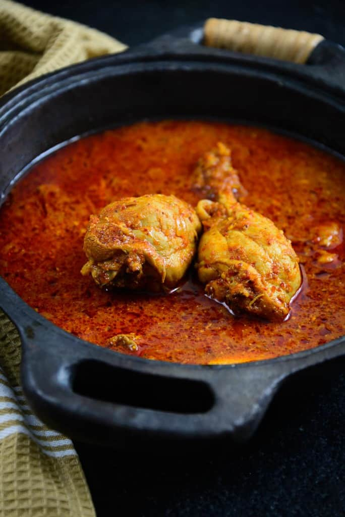 Chicken Vindaloo Recipe, How to make Chicken Vindaloo or Slightly ...