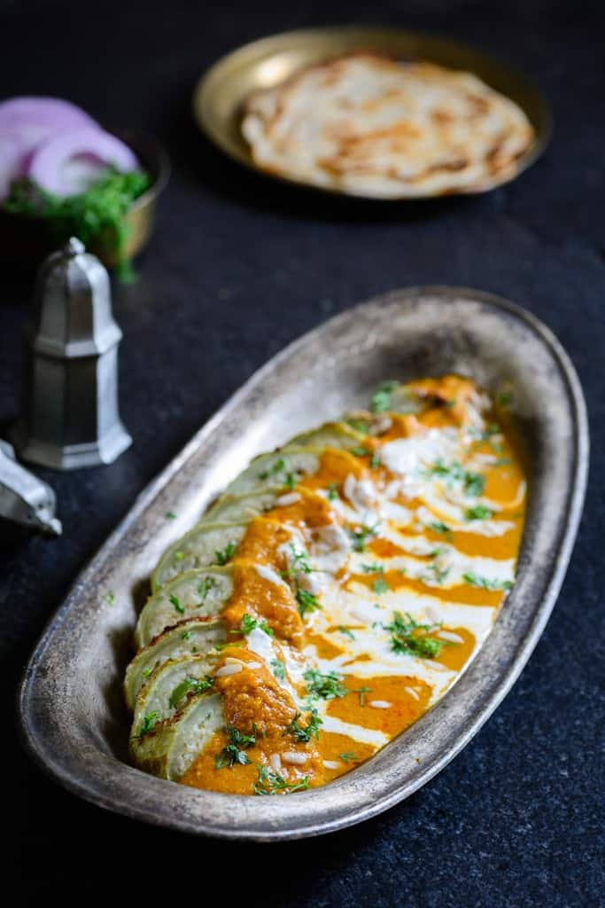 Lauki nazakat recipe how to make lauki nazakat for Awadhi cuisine vegetarian