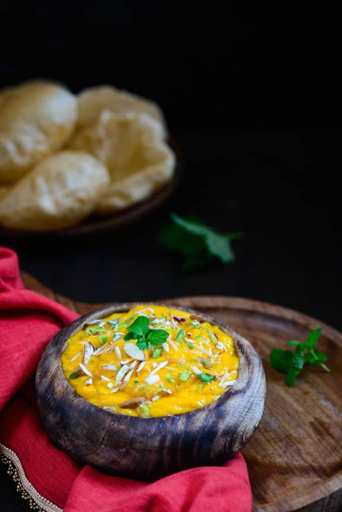 Aamras / Ripe Mango Dip  – Video Recipe