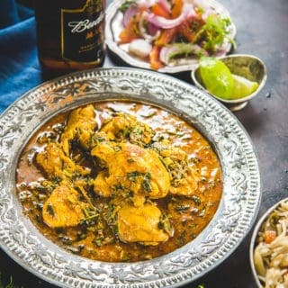 Fresh Methi Chicken Curry