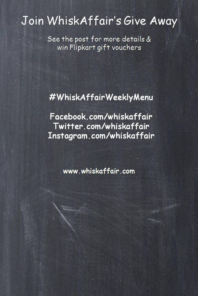 WhiskAffair GiveAway