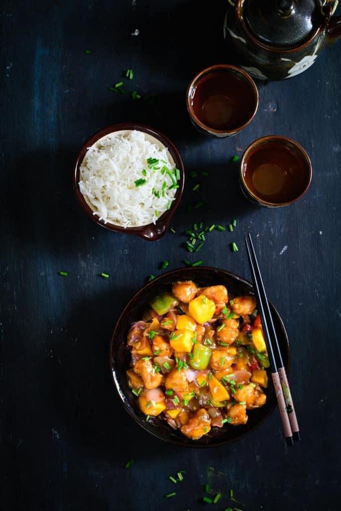 Asian Mango Chicken