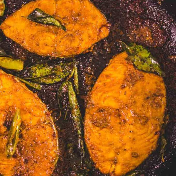 Spicy Fish Fry in Andhra style is a delicious and easy to make appetizer recipe. Here is a tried and tested traditional recipe to make Spicy Fish Fry.