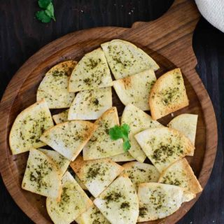 Za'atar Pita Chips Recipe