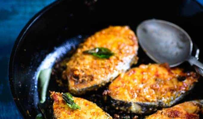 Chettinad Fish Fry Recipe