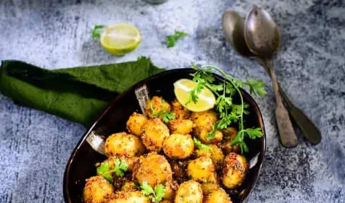 Masala Baby Potato Roast Recipe
