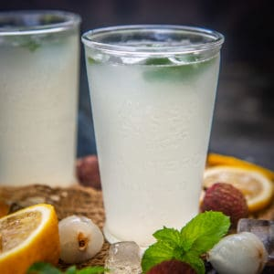 A refreshing twist on the regular lemonade, Litchi Lemonade is loaded with tangy & sweet flavors . Made using fresh lychees and lime juice its a treat to make for summers.