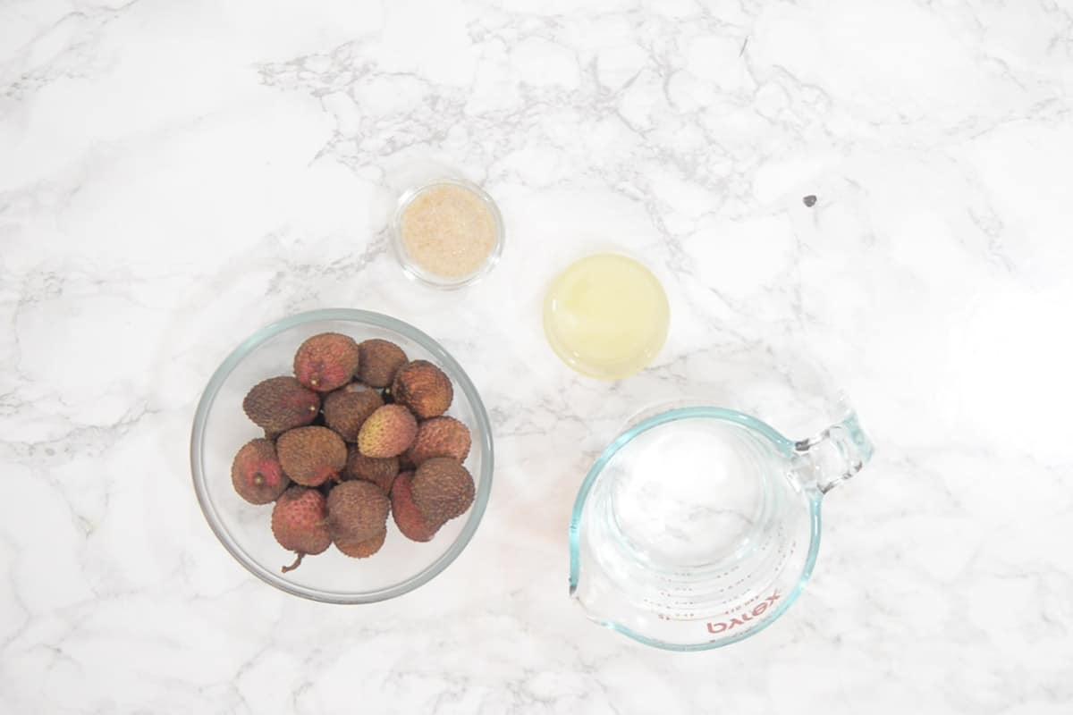 Litchi Lemonade Ingredients