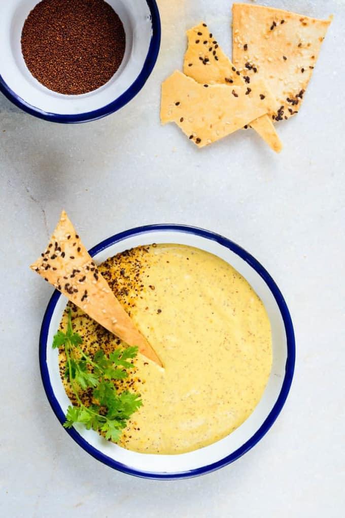 Mango Mustard Dipping Sauce