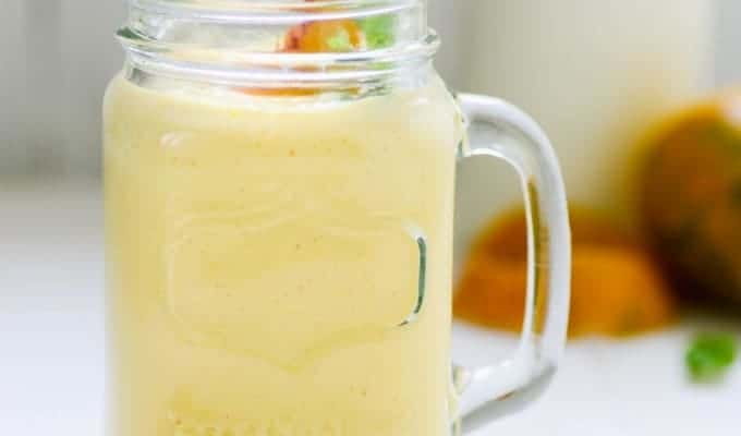 Mango Peach Shake Recipe