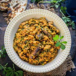 Methi Keema is a spicy curry made using Mutton mince and fresh fenugreek leaves. It goes perfectly with laccha Paratha or Naan. Here is how to make Methi Keema.