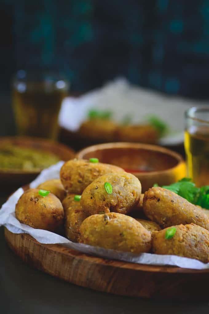 Potato Peas Croquette