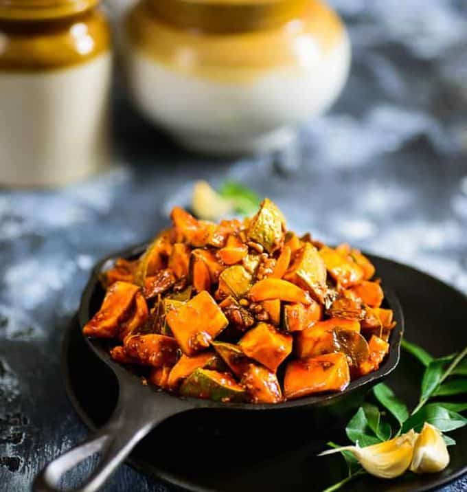 Kerala style Instant Mango Pickle
