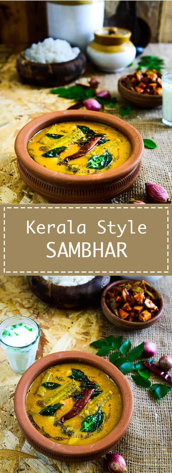 Kerala style sambhar