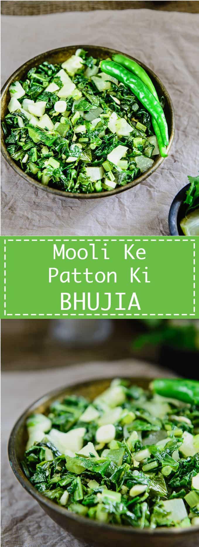 Mooli Ki Bhujiya