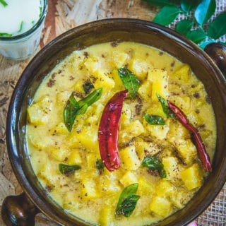 Kerala Style Pineapple Pachadi Recipe