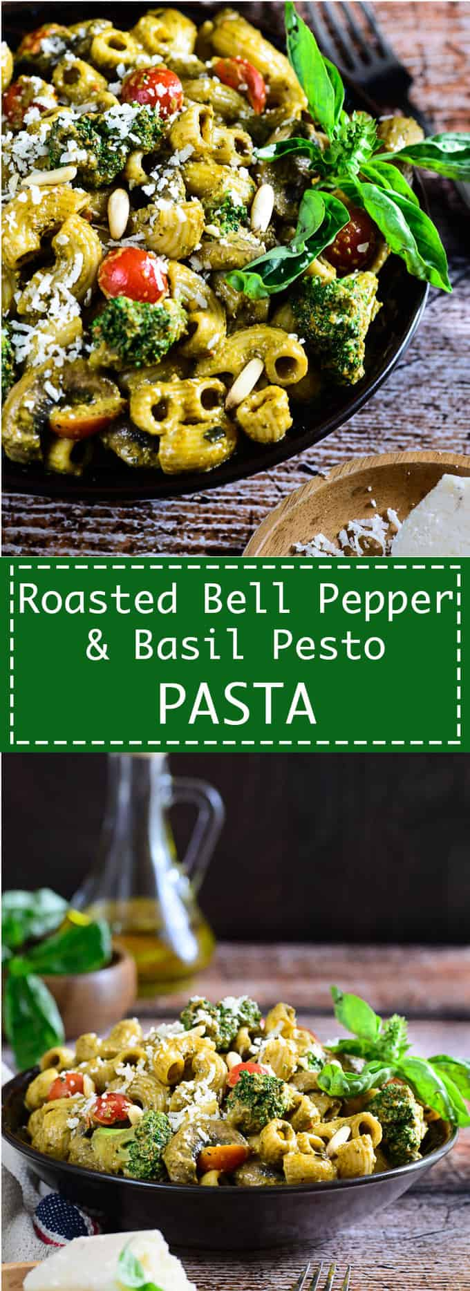 Roasted Bell Pepper Pasta