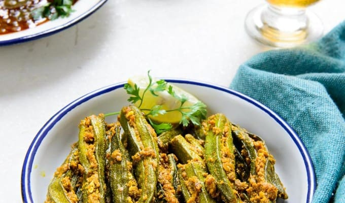 Bharwan Bhindi / Stuffed Lady's Finger Recipe