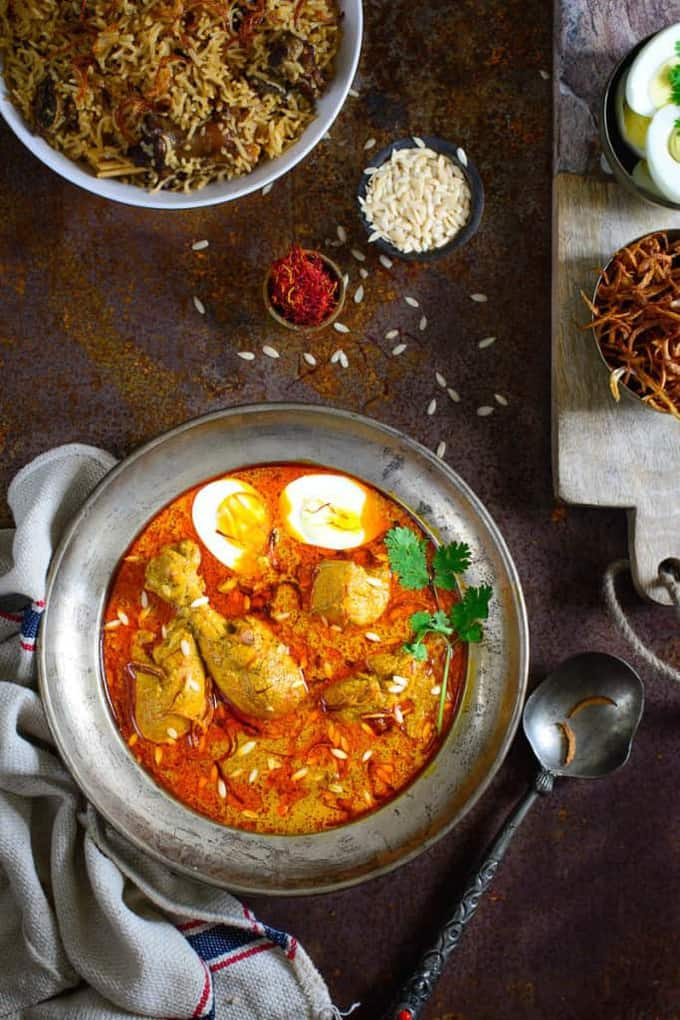 Murgh Shahjahani Recipe, How to make Murgh Shahjahani  or Chicken in a rich Creamy Gravy