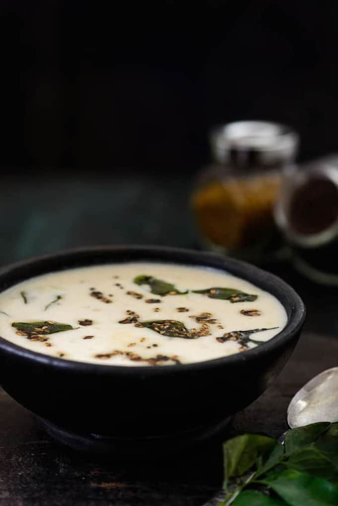 Rajgiri ki Kadhi is made using Amaranth flour or Rajgiri ka Atta which is a gluten free flour and can be had for falahar as well.