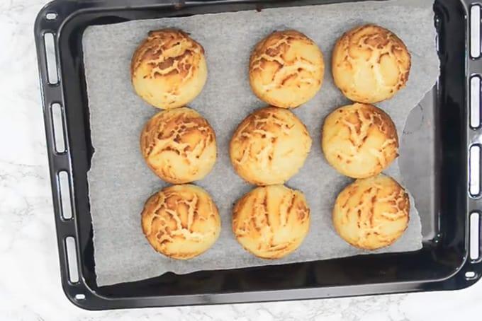 Ready dutch crunch bread.