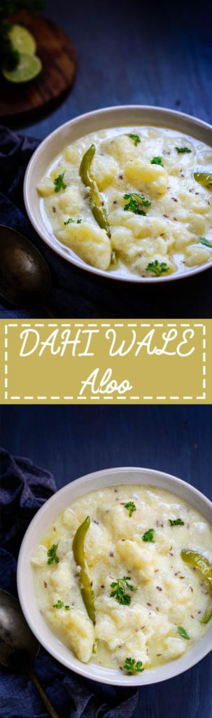 Punjabi Dahi Aloo Recipe I Dahi Wale Aloo Recipe is a simple potato curry made in a yogurt based gravy. This is eaten mostly during pooja days or otherwise with poories and parathas. Indian I Potato I curry I easy I simple I best I Punjabi I Traditional i vrat I fasting I