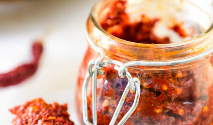 How To Make Red Chili Paste