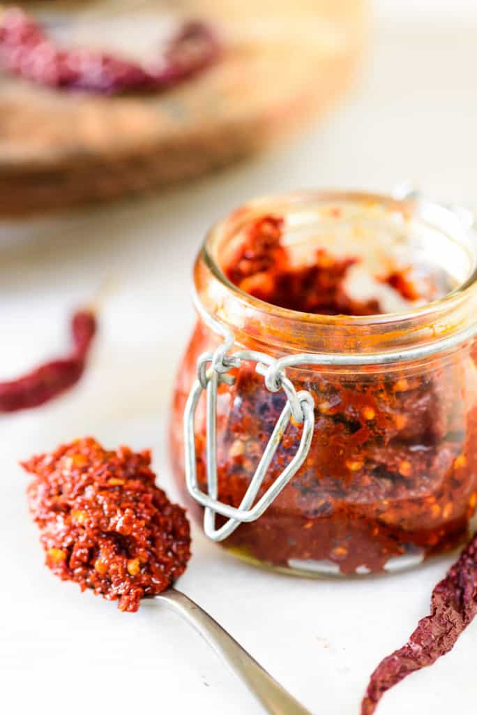 How To Make Red Chili Paste at home | Best Red Chili Paste Recipe