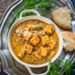 Methi Paneer is a delicious paneer curry where paneer cubes are cooked in a spicy gravy along with dried fenugreek leaves. Here is how to make methi paneer recipe.