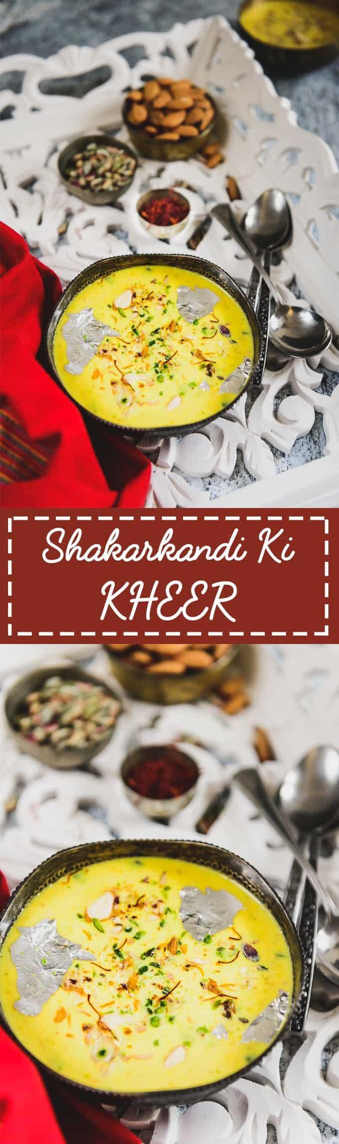 Shakarkandi Ki Kheer