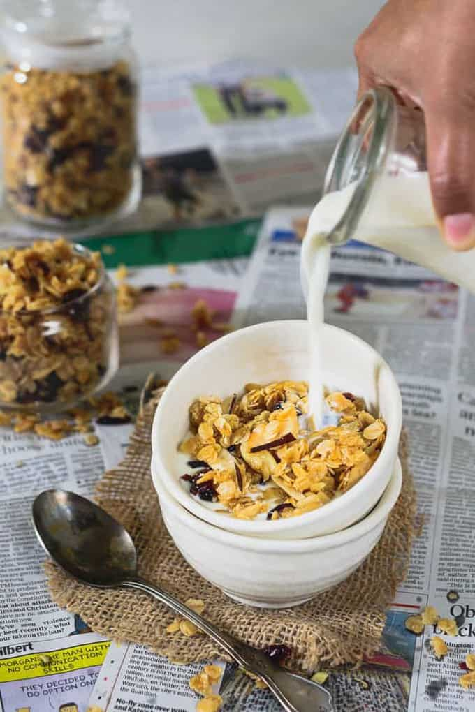 Vanilla and Coconut Granola