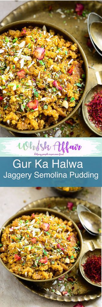 Gur Ka Halwa is a tasty traditional sweet dish made from jaggery and semolina. It is mostly prepared during the cold season and winters. #Diwali #DiwaliRecipe #DiwaliRecipes #IndianRecipes #IndianSweetRecipes #IndianDessertRecipes #IndianFestival #IndianFestivalIdeas #DiwaliIdeas