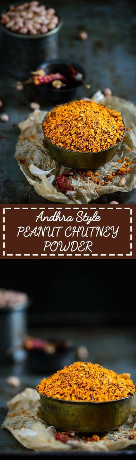Andhra Style Peanut Powder
