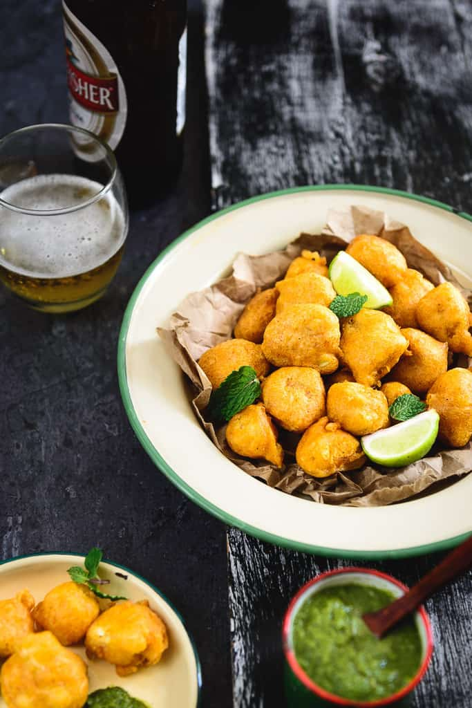 Their crunch, taste and flavor is so irresistible, that it is no wonder that Beer Battered Cauliflower Florets are a favorite with everyone.