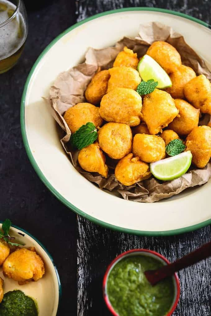 Beer Battered Cauliflower Florets