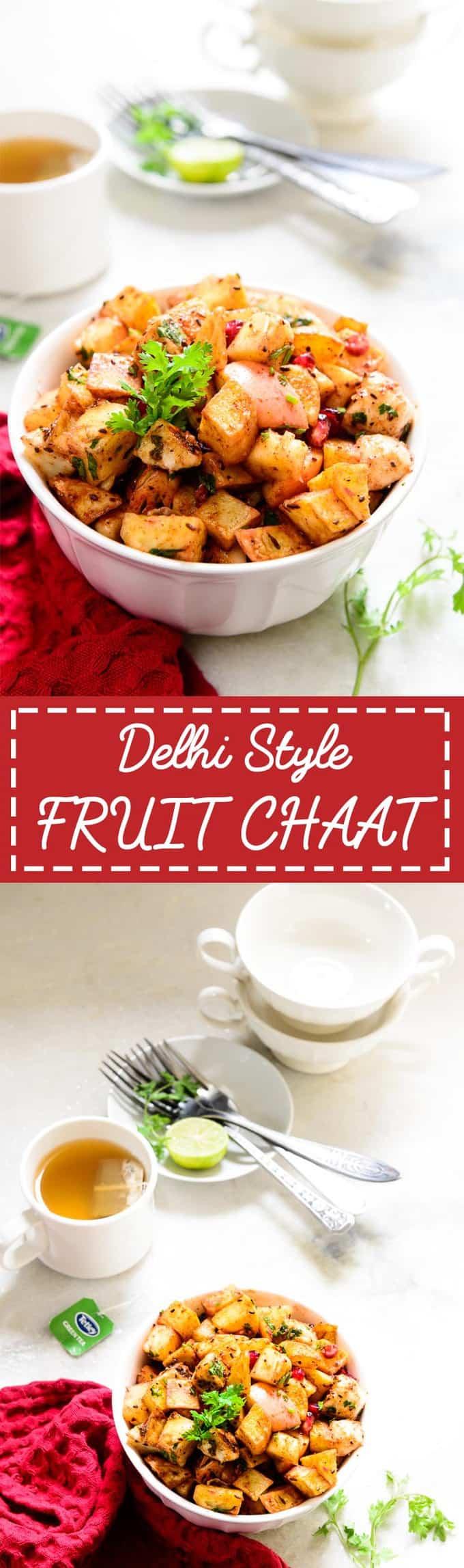 Delhi Style Fruit Chaat