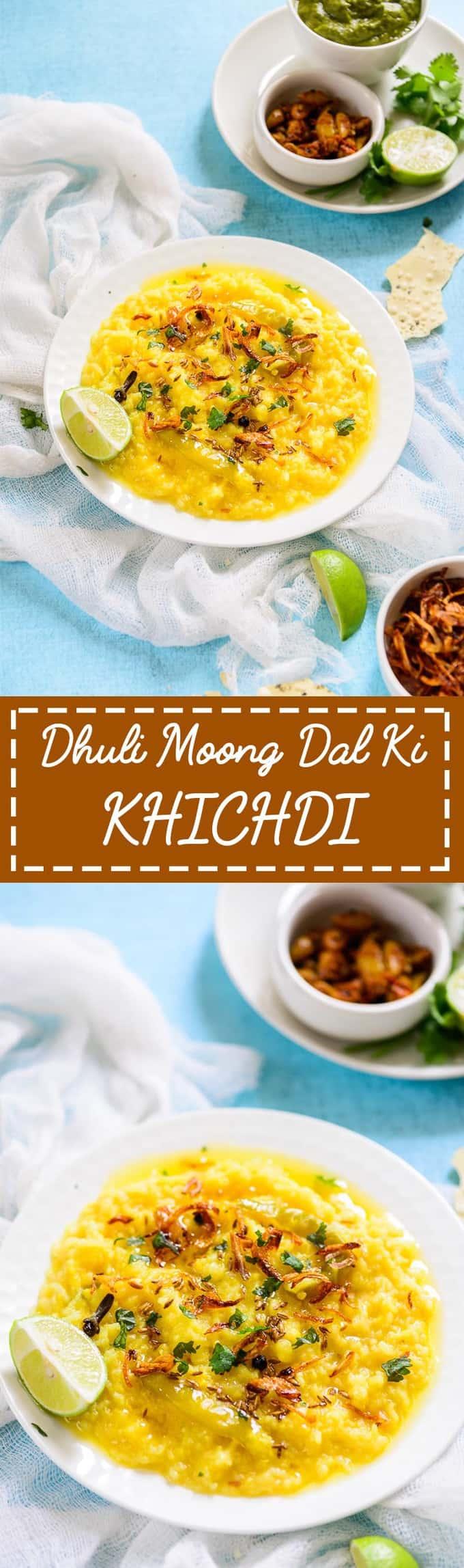Dhuli Moong Dal Ki Khichdi